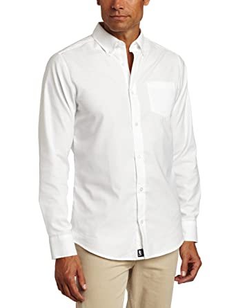 Amazon.com: Lee Uniforms Men's Long-Sleeve Oxford Shirt: Clothing