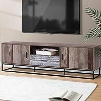 Artiss TV Unit 180cm Length Entertainment Unit Industrial TV Stand Cabinet