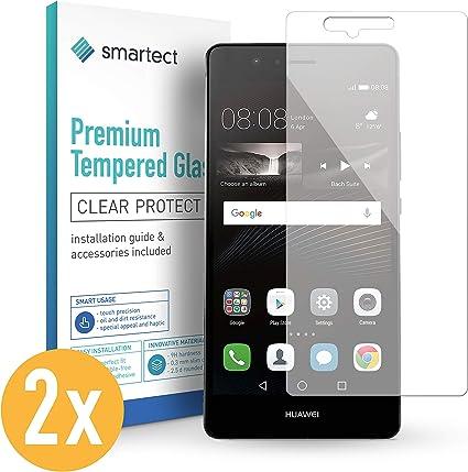 smartect Cristal Templado para Móvil Huawei P9 Lite [2 Unidades ...