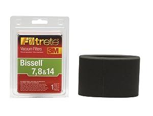 3M Filtrete Bissell 7, 8 & 14 Allergen Vacuum Filter