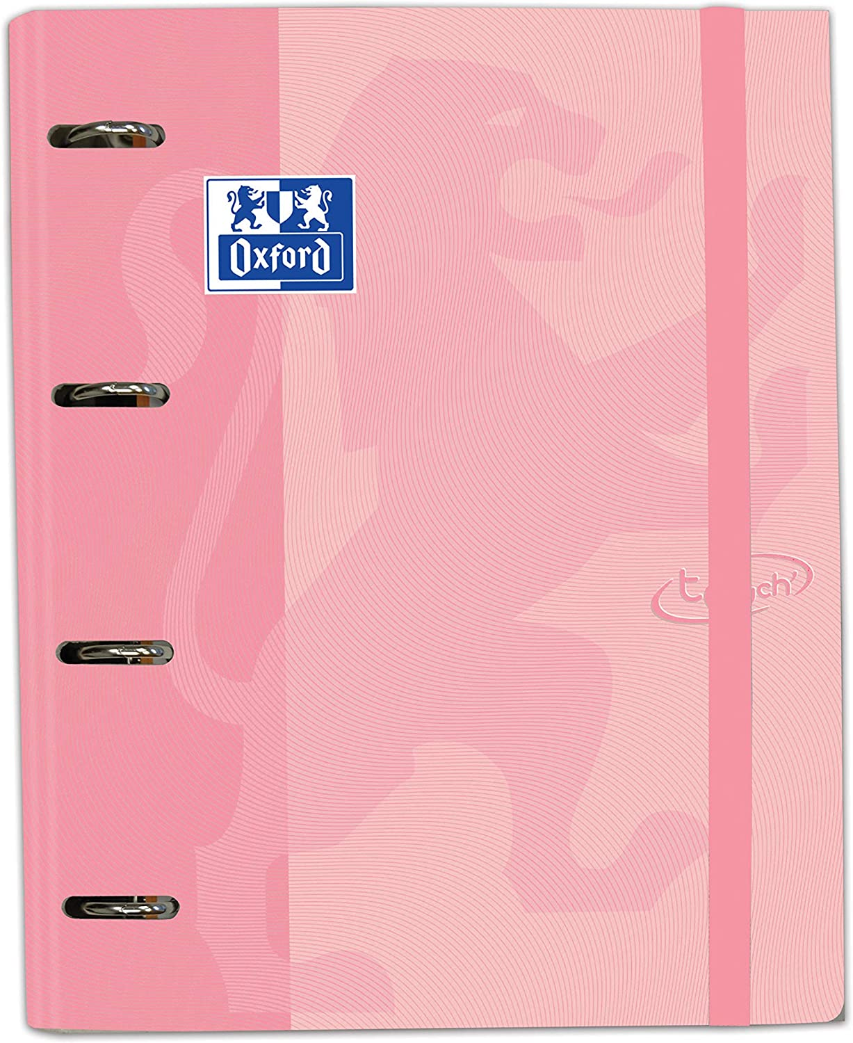Carpeta con recambio Europeanbinder A4+ Oxford Touch color Flamingo Pastel
