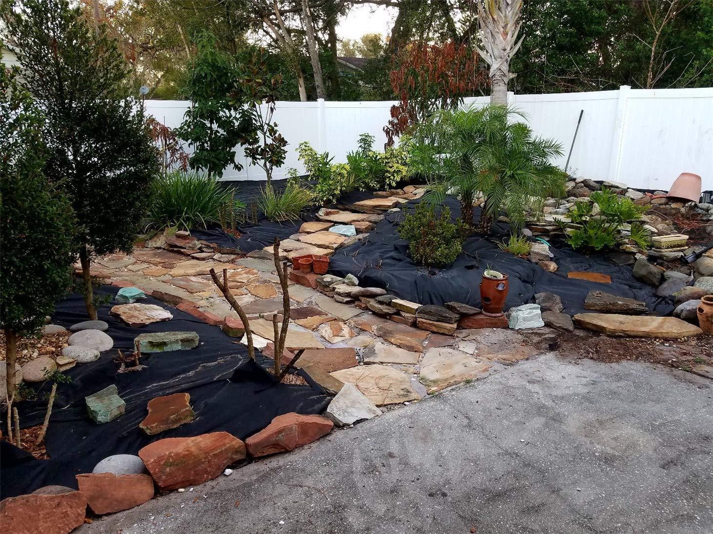 Fabric Anchor Staples 100 Garden Landscape Durable 11 Gauge Steel 6 inch