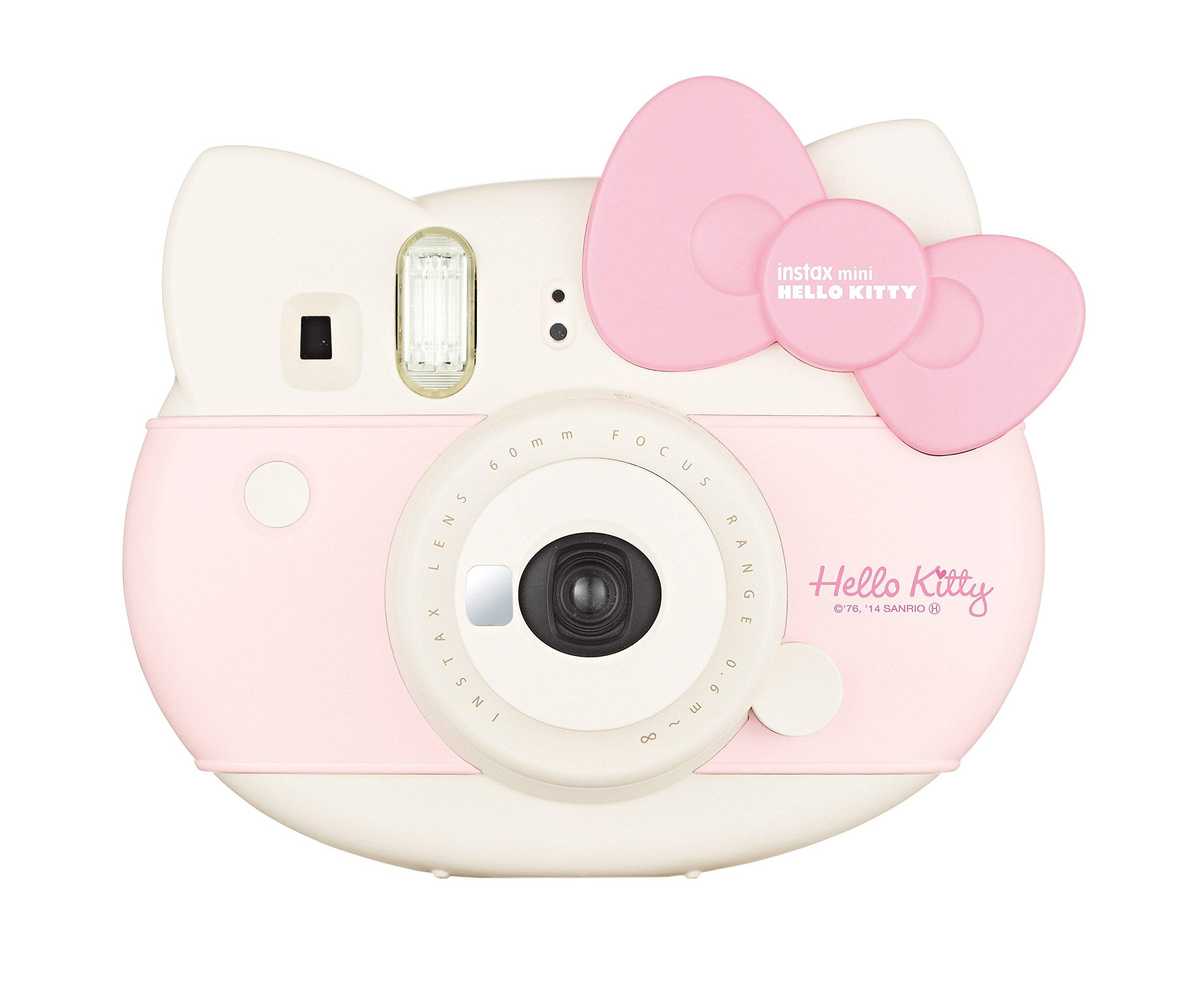 Fujifilm Instax Hello Kitty Instant Film Camera (Pink) - International Version by Fujifilm