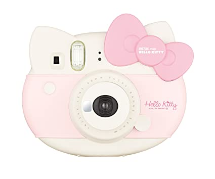 afb87ebcc Amazon.com : Fujifilm Instax Hello Kitty Instant Film Camera (Pink) -  International Version : Camera & Photo