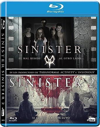Pack Sinister 1 + 2 Blu-Ray [Blu-ray]: Amazon.es: Ethan Hawke, James Ransone, Shannyn Sossamon, Scott Derrickson, Ciarán Foy, Ethan Hawke, James Ransone: Cine y Series TV