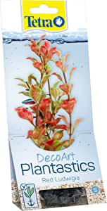 Tetra Red Ludwigia Decoart Artificial Plantastics