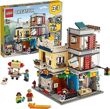 LEGO Creator - Tienda de Mascotas y Cafetería Nuevo set de construcción de Edificios de Juguete (31097) , color/modelo surtido: Amazon.es: Juguetes y juegos