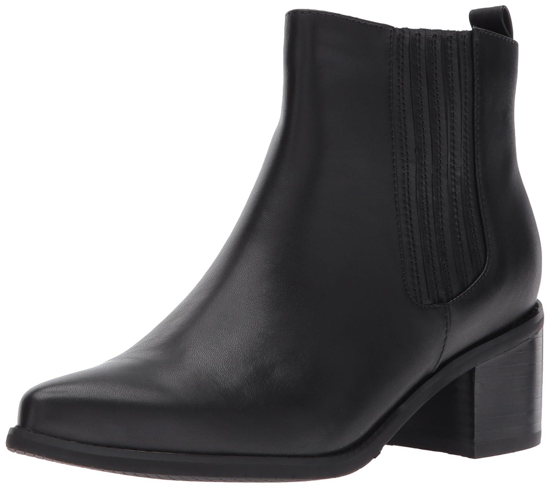 Blondo Women's Elvina Waterproof Ankle Bootie B071LFDRYV 8.5 B(M) US|Black Leather