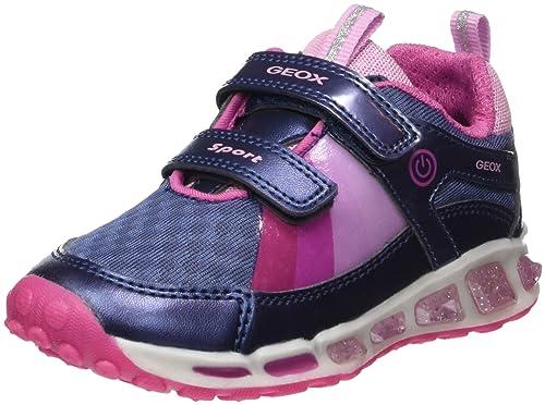 Geox J Shuttle B, Zapatillas para Niñas: Amazon.es: Zapatos y complementos