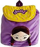 """Chhota Bheem Kfd Chutki 3D Face Plush Bag - 12"""""""