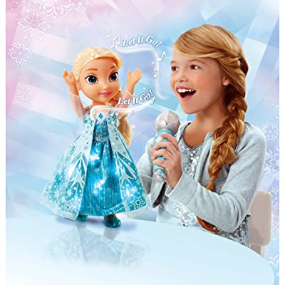 Disney Frozen Sing-A-Long Elsa Doll by Frozen: Toys & Games