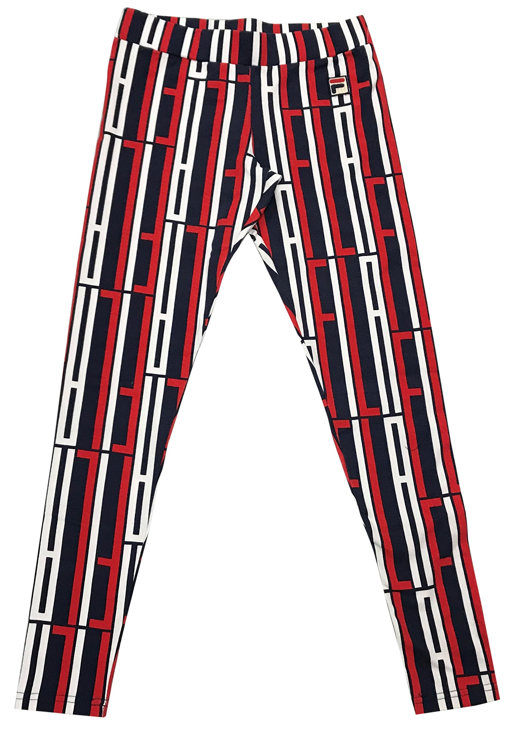 Fila Petra Leggings (Peacoat/Chinese Red-White, S)