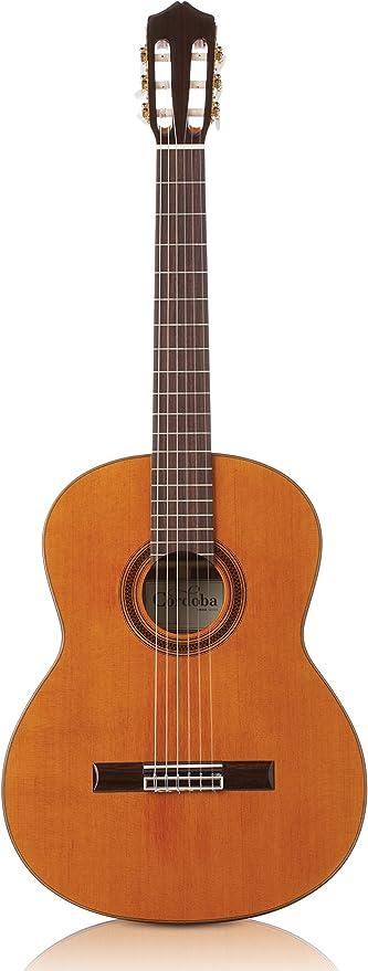 Cordoba Iberia C7-CD - Guitarra clásica de nailon y funda