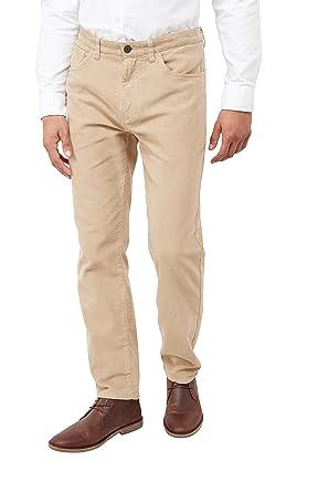 e5748a42e9 next Hombre Pantalones con Cinco Bolsillos De Pana Piedra EU 96.5 Long (UK  38L)