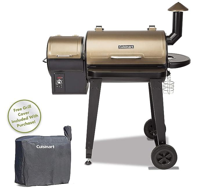 Cuisinart CPG-4000 Wood BBQ Grill – Best Budget Pellet Smoker