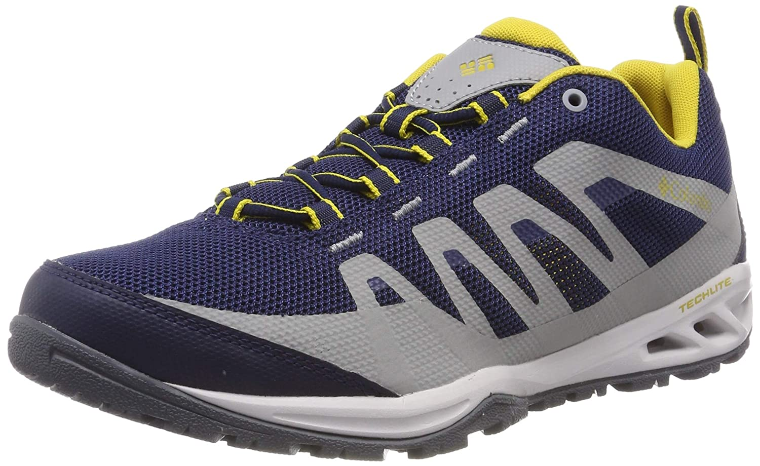 Bleu (Collegiate Navy, Antique Moss) 42 EU Columbia Vapor Vent, Chaussures Multisport de plein air Homme