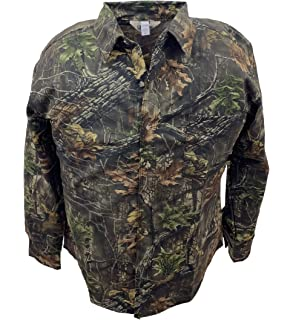 f83b8ee1b0250 Amazon.com : Clarkfield Outdoors Big & Tall Camo Long Sleeve Hunting ...