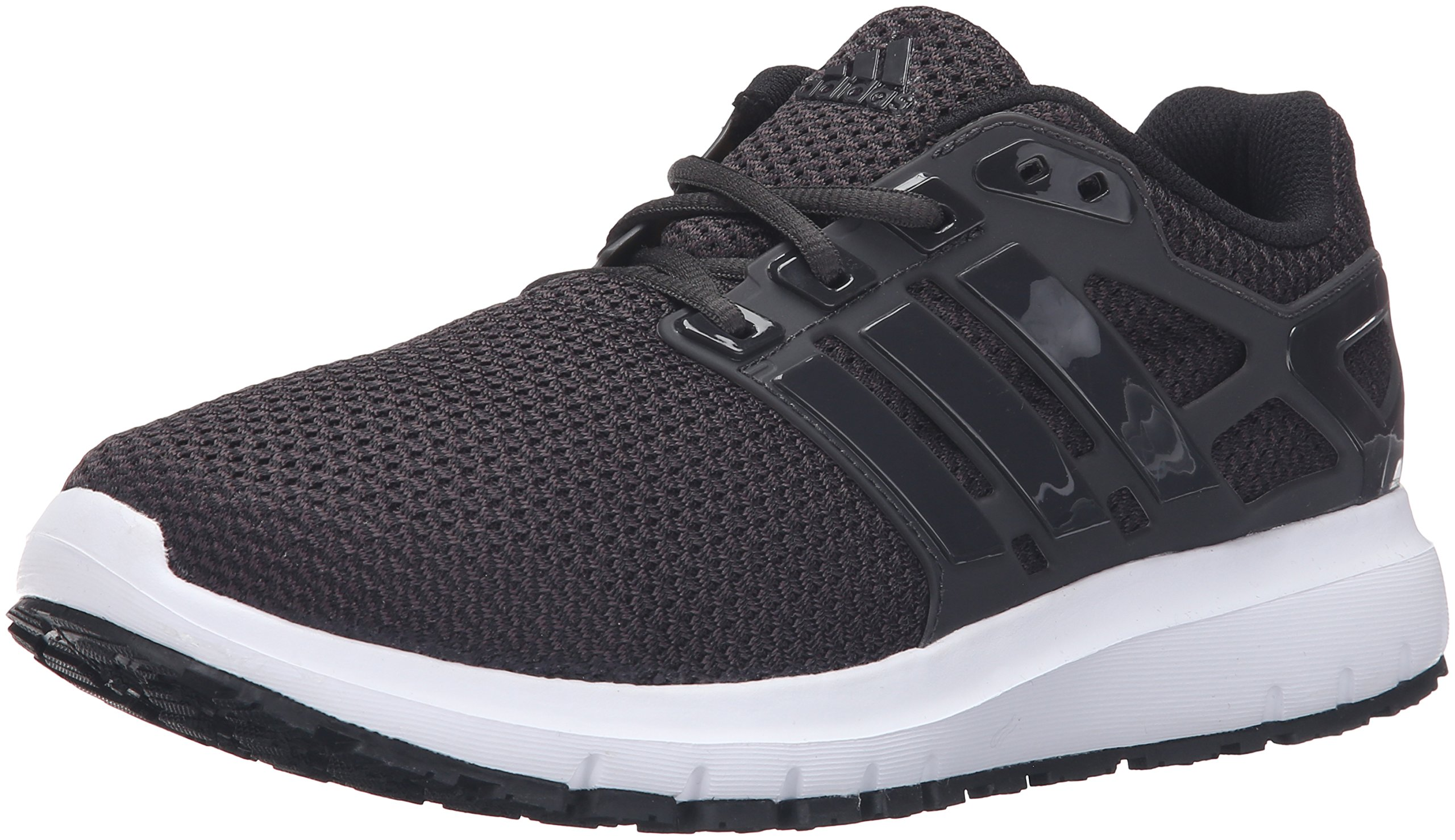 adidas Men's Energy Cloud WTC m Running Shoe, Black/Utility Black/White, 6.5 M US