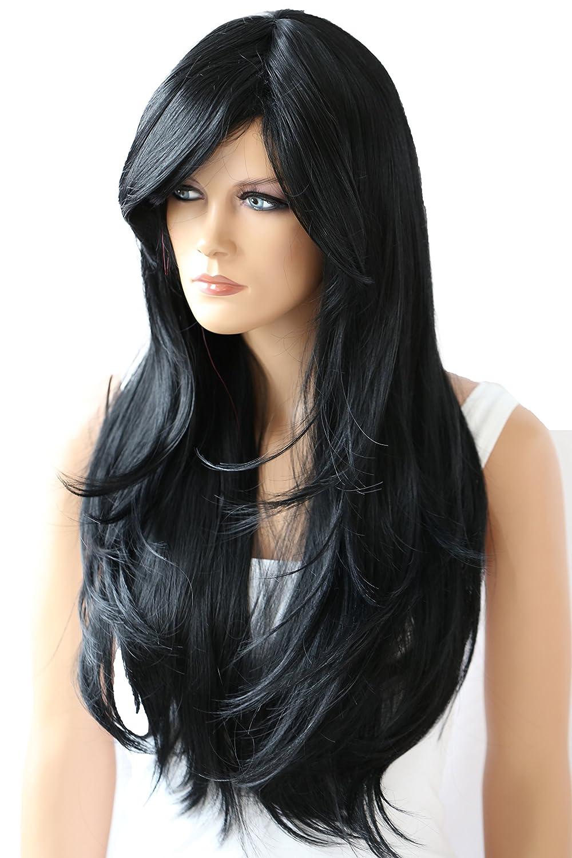 PRETTYSHOP Parrucca da donna Fashion Lunga Hair Ricci ondulati wavy resistente al calore mix bianco # 2T1001 WP105