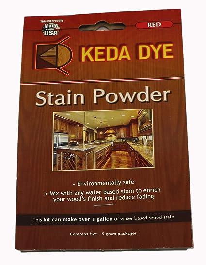 Red Dye By Keda Dye 25 Grams Of Red Wood Dye Makes 5 Dye Stain Quarts Amazon Com