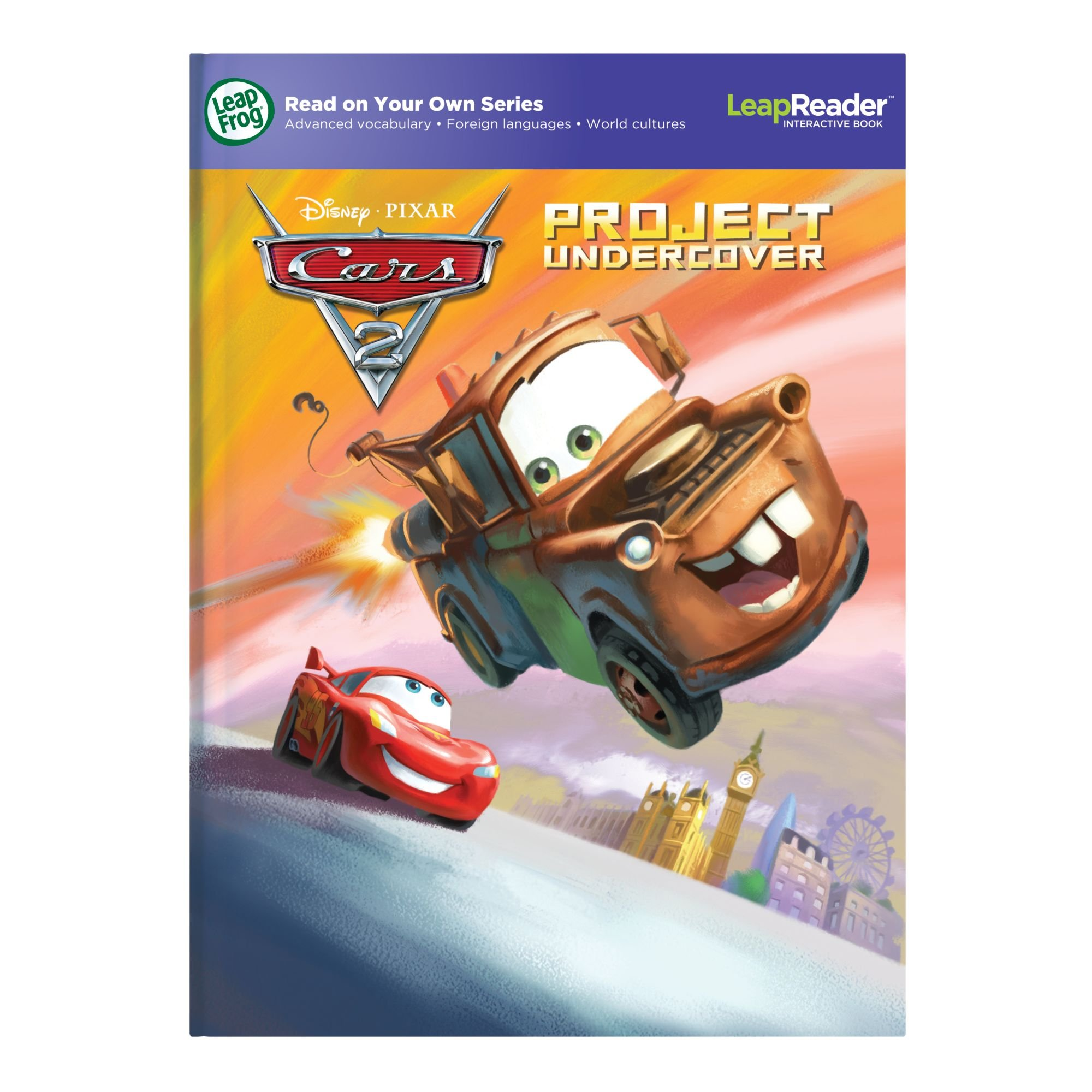 LeapFrog LeapReader Book: Disney/Pixar Cars 2: Project Undercover (works with Tag) by LeapFrog (Image #5)