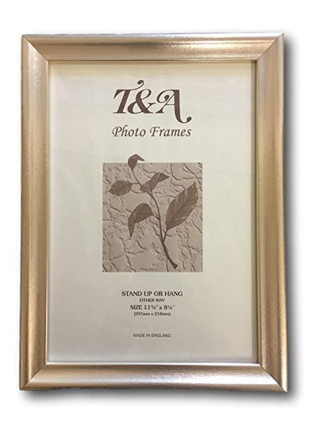 champagne coloured picture frames uk made all sizes a4 amazon