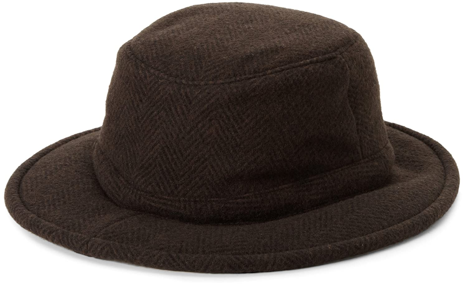 Tilley Winter Hat, Brown/Black Herringbone, 7 5/8 Tilley Endurables TW2