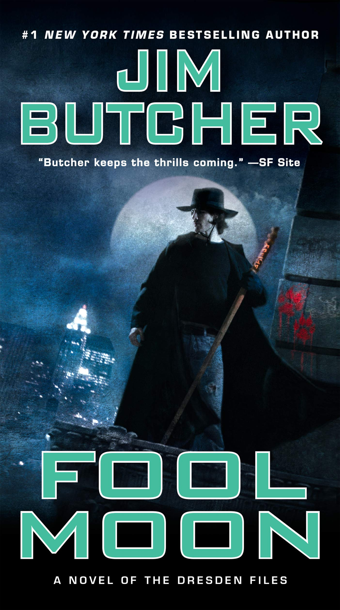 Amazon.com: Fool Moon (Dresden Files) (9780451458124): Butcher ...