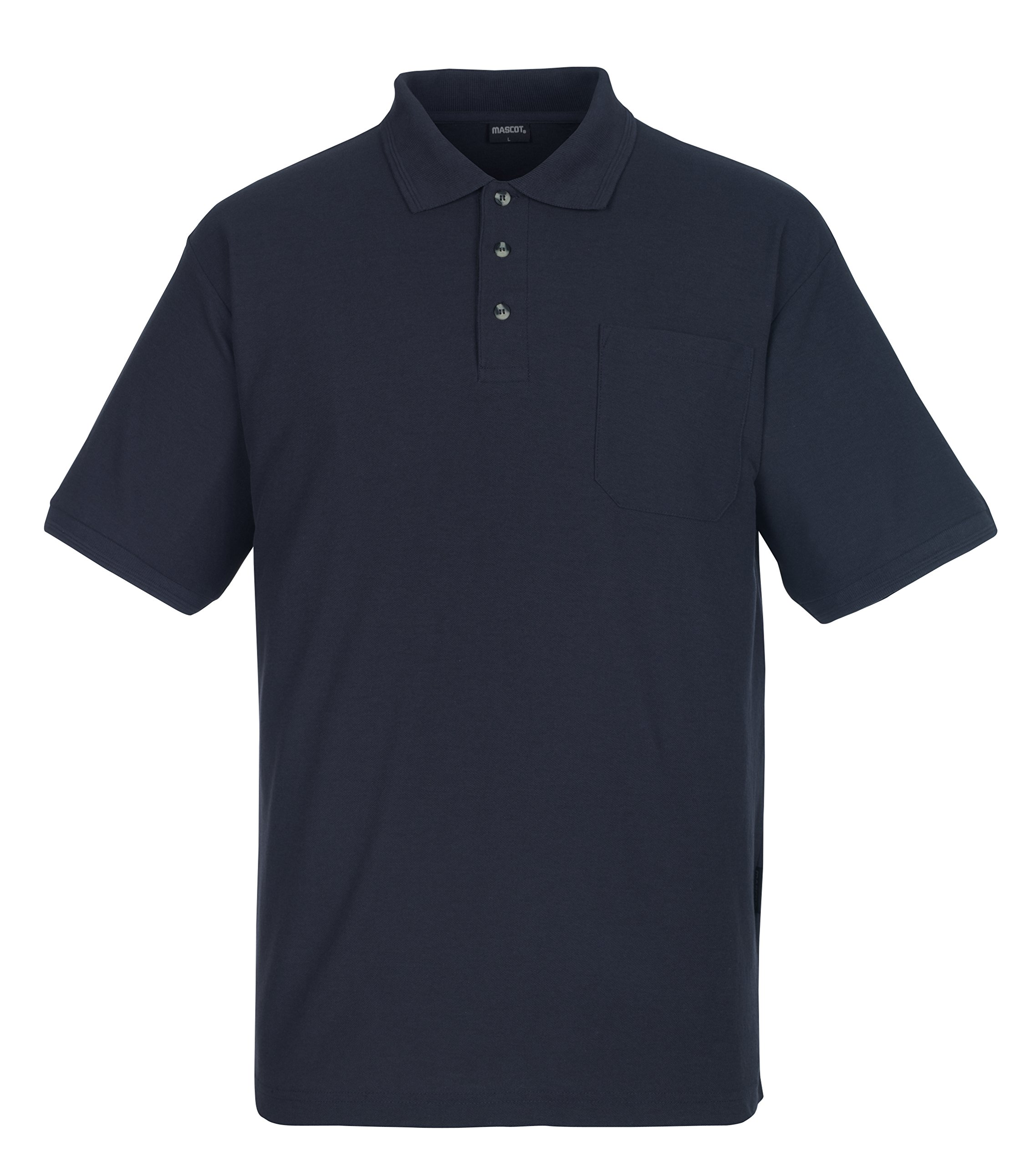 Mascot 00783-260-010-4XL Borneo Polo Shirt, 4X-Large, Dark Blue by Mascot (Image #1)