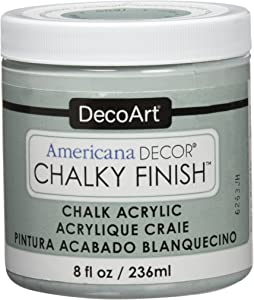 Deco Art ADC-17 Americana Chalky Finish Paint, 8-Ounce, Vintage,Multicolored