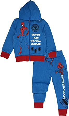 Spiderman Marvel Chándal - para niño Azul Claro 104 cm: Amazon.es ...