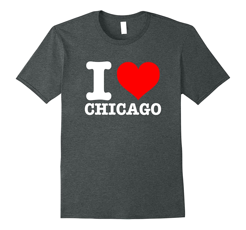 I Love Chicago T-Shirt - I Heart Chicago Shirt-TH