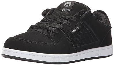 Osiris Mens Protocol SLK Skate Shoe, Black/Grey, ...