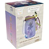 Hapinest DIY Fairy Lantern Night Light Kit - Arts and Crafts Gift for Girls Ages 6 7 8 9 10 Years and Up