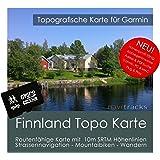 Finnland Garmin Karte Topo 4GB. Topografische GPS Freizeitkarte für Fahrrad Wandern Touren Trekking Geocaching & Outdoor. Navigationsgeräte, PC & Mac