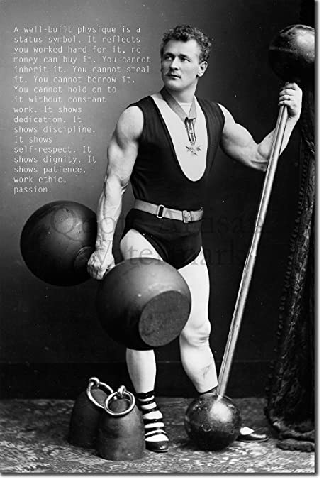 Bodybuilding Motivational Poster 14