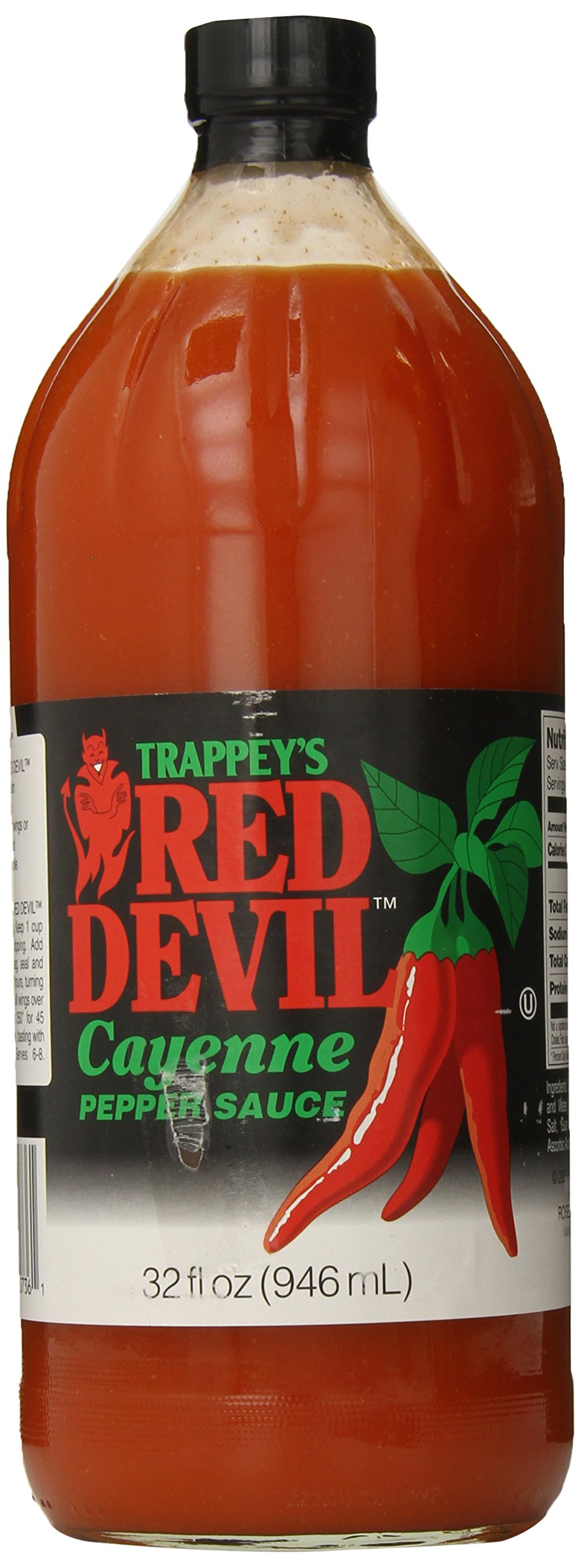 Amazon.com : Trappey's Red Devil Sauce Hot, 12 Ounce