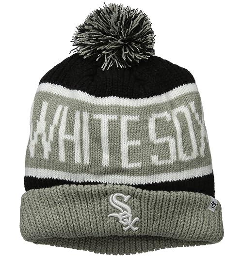 cad33494b6e Amazon.com    47 MLB Chicago White Sox Calgary Cuff Knit Beanie with ...