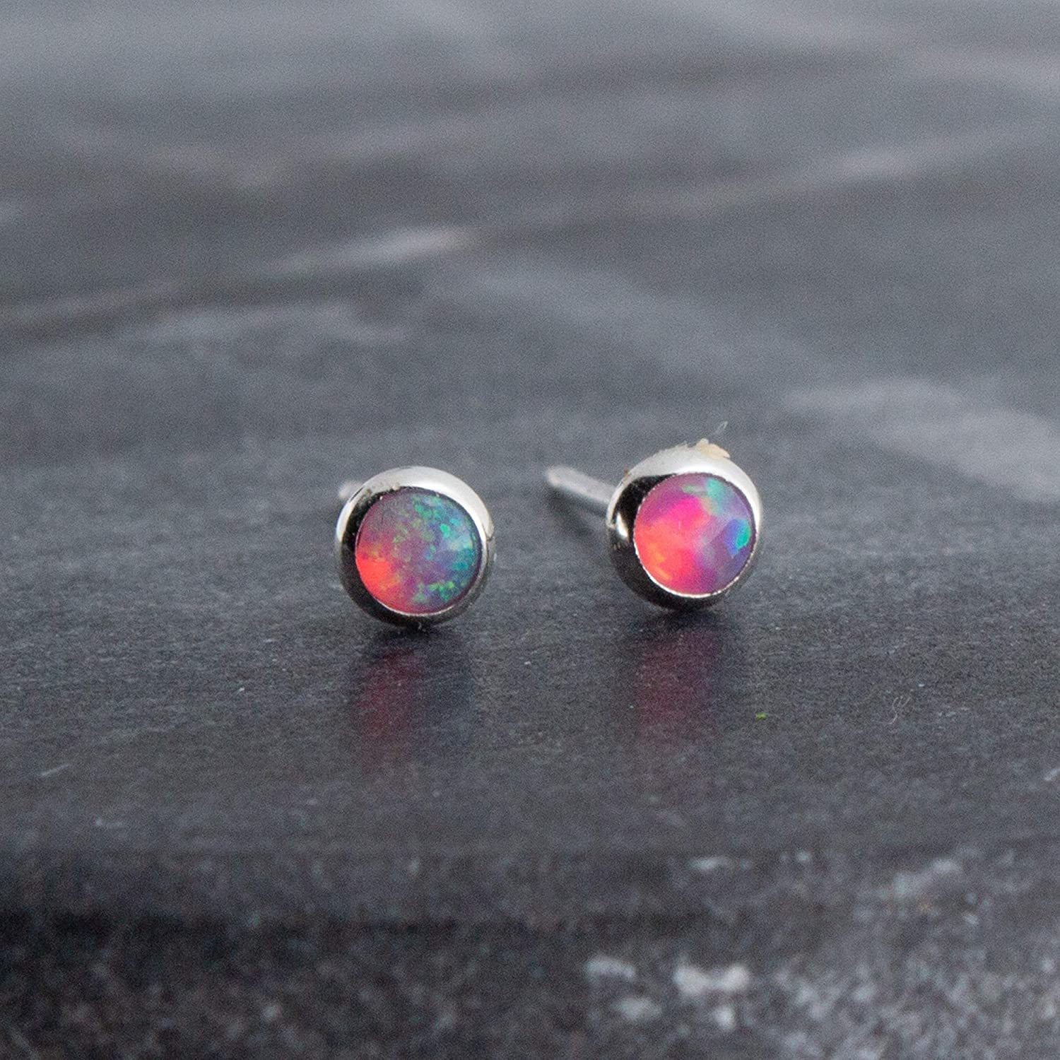 Blank Setting Oval Cabochon Earrings Stud Sterling Silver 5x3 to 9x7 Oval Serrated Cabochon Post Earring Mounting