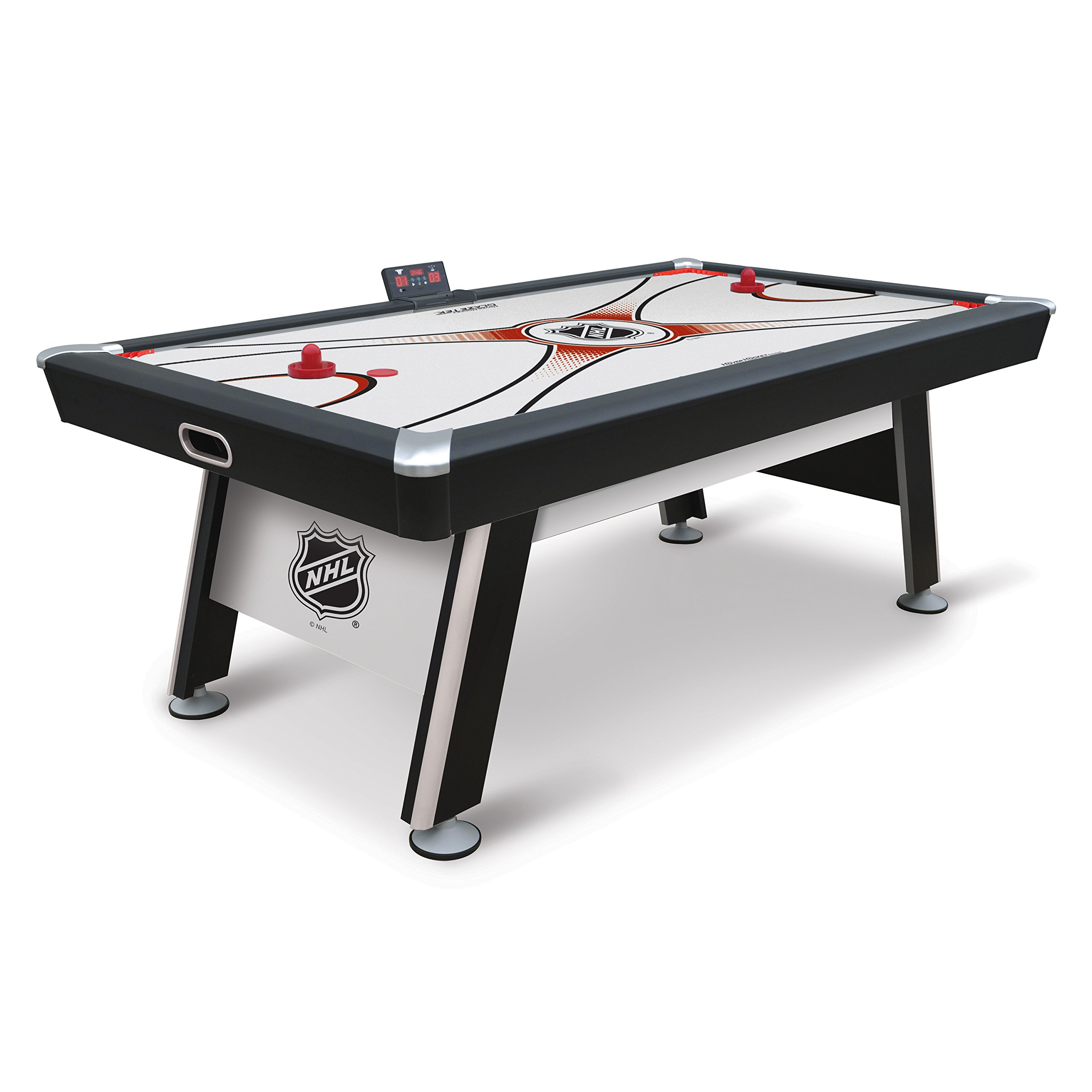 NHL Sting Ray Air Powered Hockey Table - 84 Inch - Features Scratch Resistant Material, Automatic Scoring, and Complete with All Accessories by EastPoint Sports