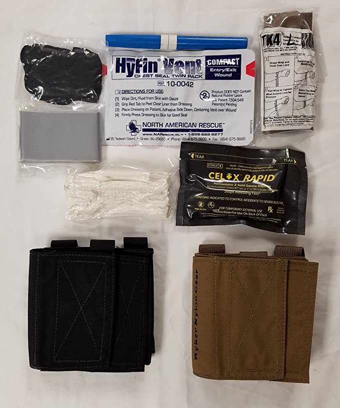 The Tactical Medic AFAK - Ankle First Aid Kit- Stocked