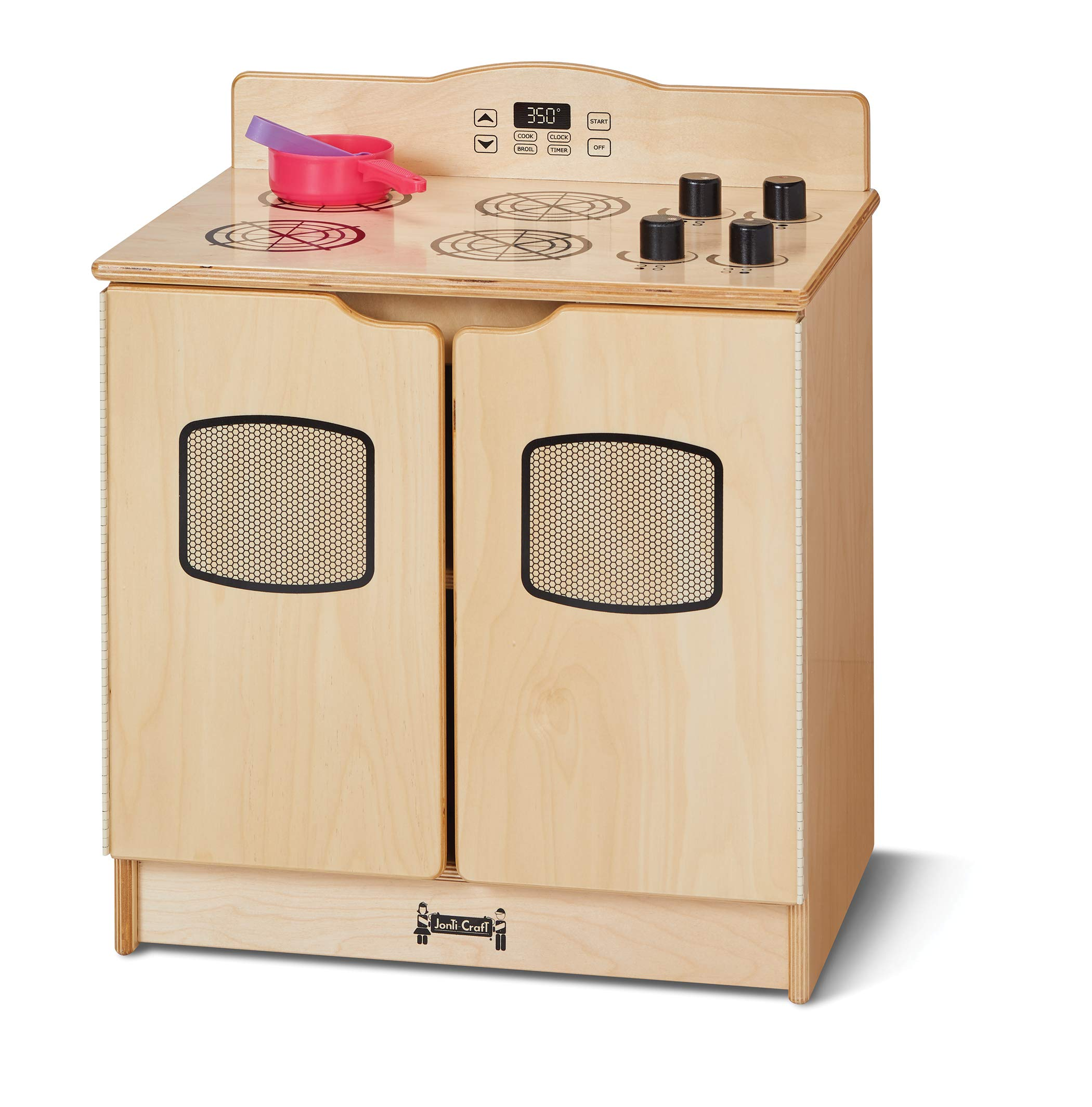 Jonti-Craft 2439JC Toddler Gourmet Kitchen Stove