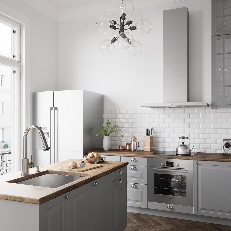 Vigo vg02012 K2 Astor pull-out Spray grifo de la cocina - incluye dispensador de jabón,: Amazon.es: Bricolaje y herramientas