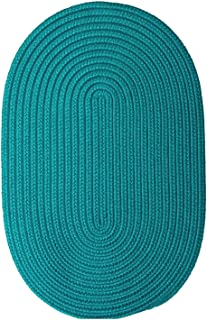 product image for Colonial Mills Floor Decorative Boca Raton Turquoise 7'x9' - Oval Rug