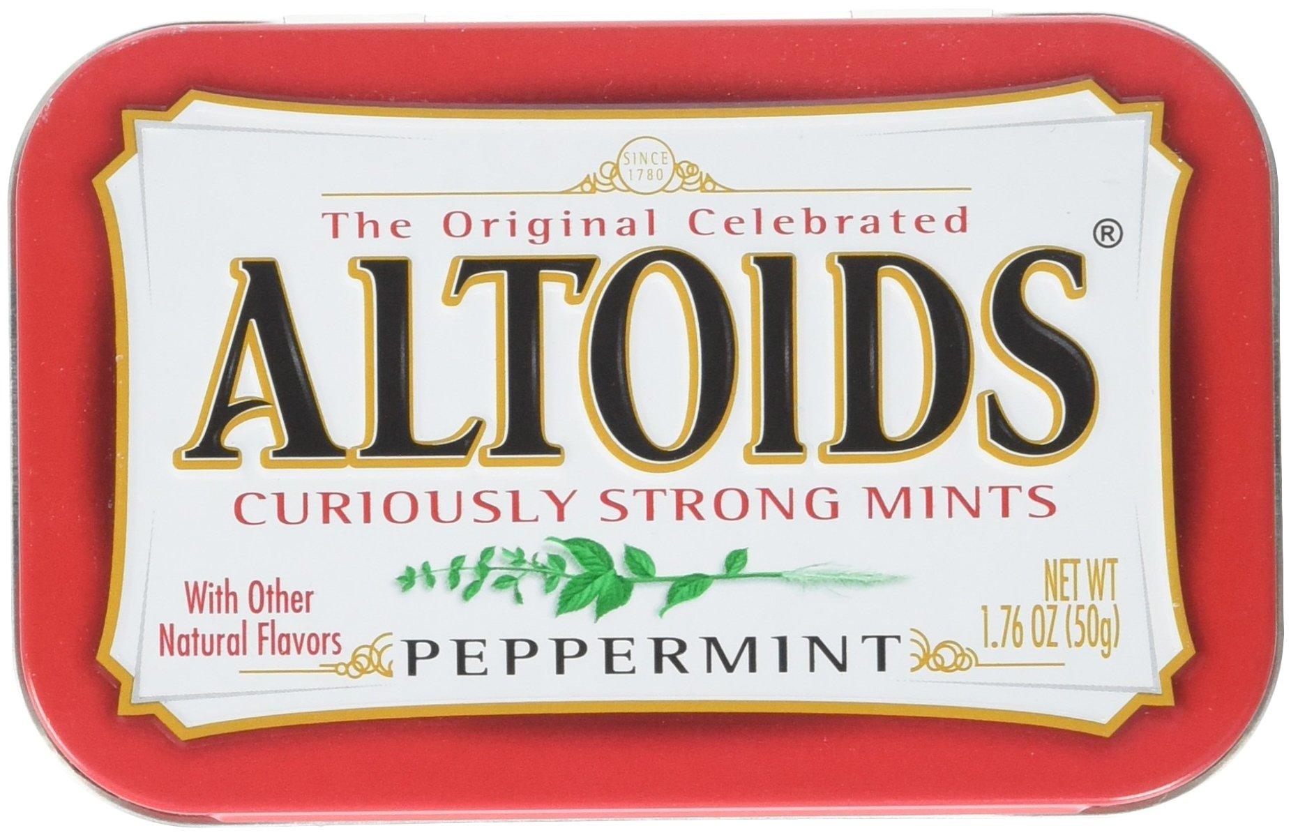 Office Snax® Altoids® FOOD,PEPPERMINT ALTOIDS (Pack of2)