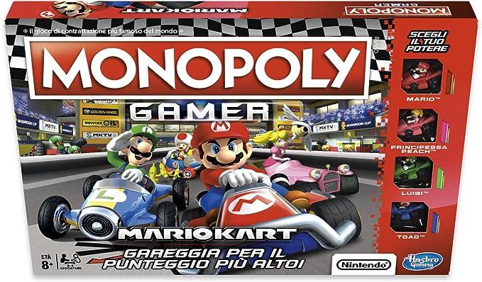 Monopoly - Monopoly Gamer Mario Kart, E1870103 [Import Italia]: Amazon.es: Juguetes y juegos