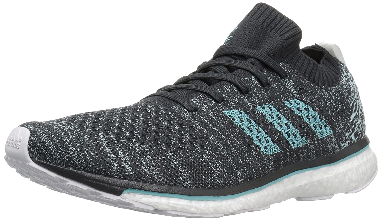 new product 29d0a f66d2 Amazon.com  adidas Adizero Mens Prime Parley CarbonBlue Running Shoes  (DB1252)  Road Running
