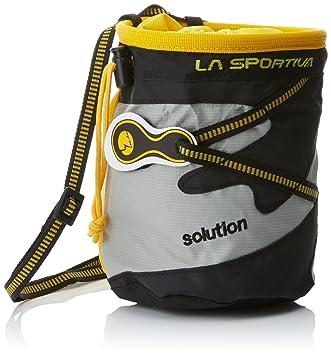 La Sportiva Chalk Bag Solution - Bolsa de magnesio para Escalada: Amazon.es: Deportes y aire libre