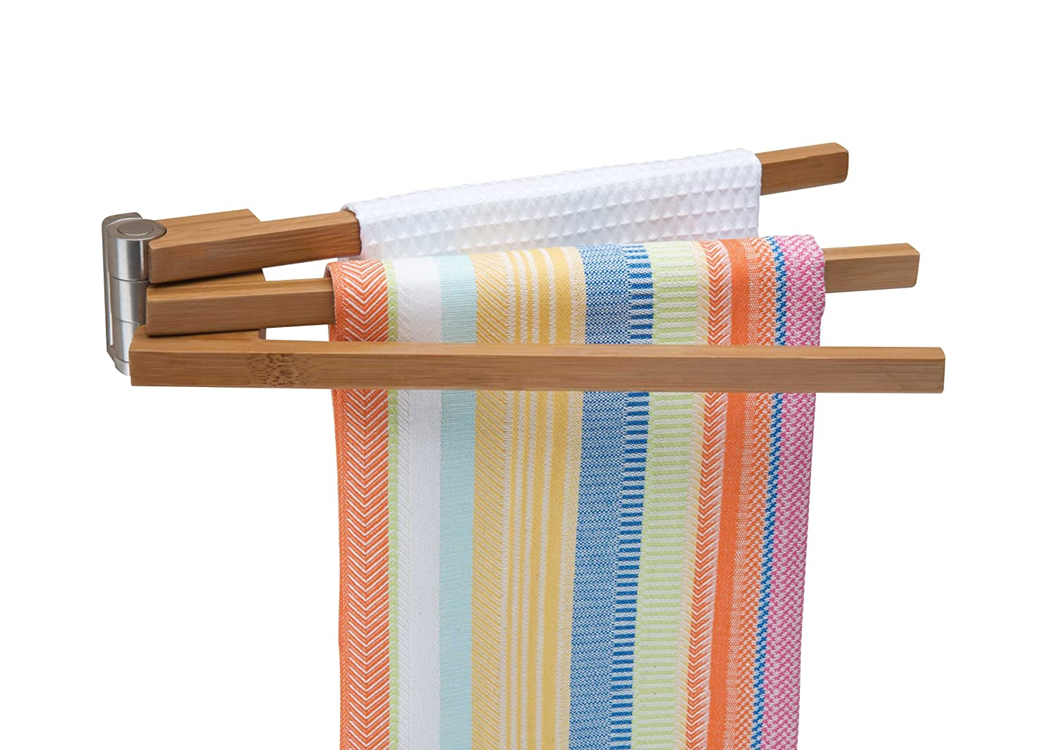 swinging towel Rack
