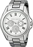Vince Camuto Women's VC/5187SVSV Swarovski Crystal Accented Silver-Tone Multi-Function Bracelet Watch